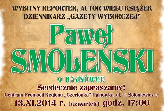 plakat-Smoleński wielki dziennikarz