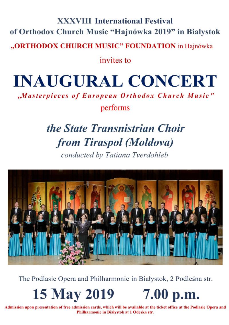 "The International Festival of Orthodox Church Music ""Hajnówka"""