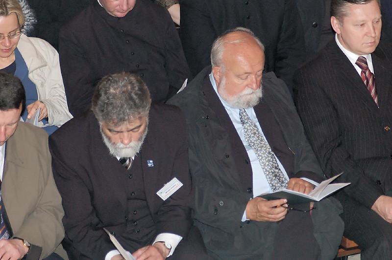 "2006, Białystok, Press conference.  ""Matins"" in Białystok's Cathedral Basilica"
