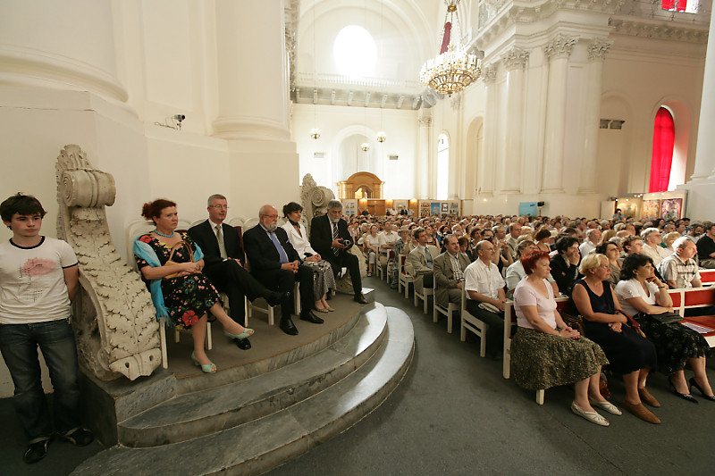 """2006, """"Matins"""" in Smolny Convent, St. Petersburg"""