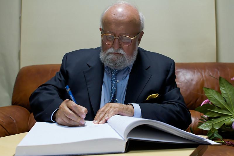 2013,  K. Penderecki's 80th Jubilee. Concert of K. Penderecki's Orthodox church music and music dedicated to K. Penderecki