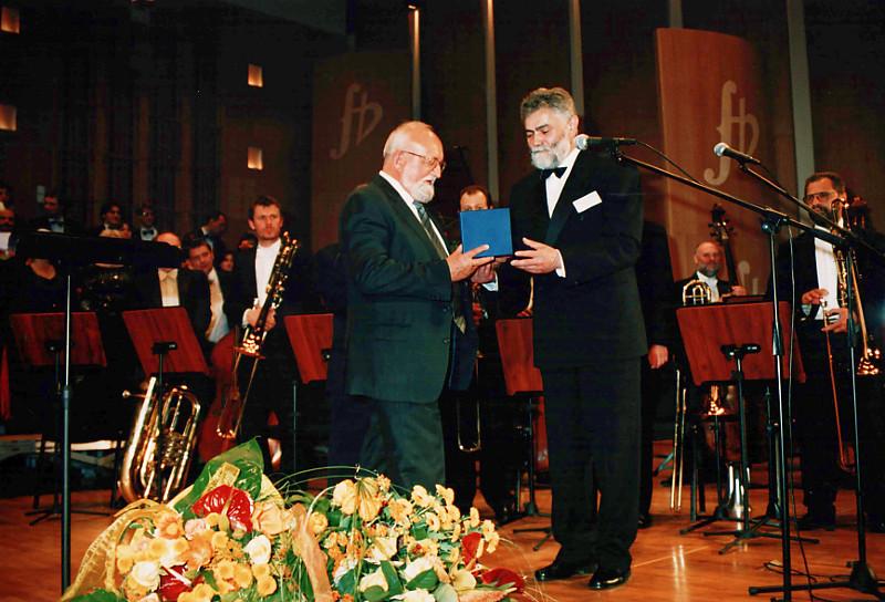 "2003, Concert ""Cherubs' song"" and ""Hymn to St. Daniil"""