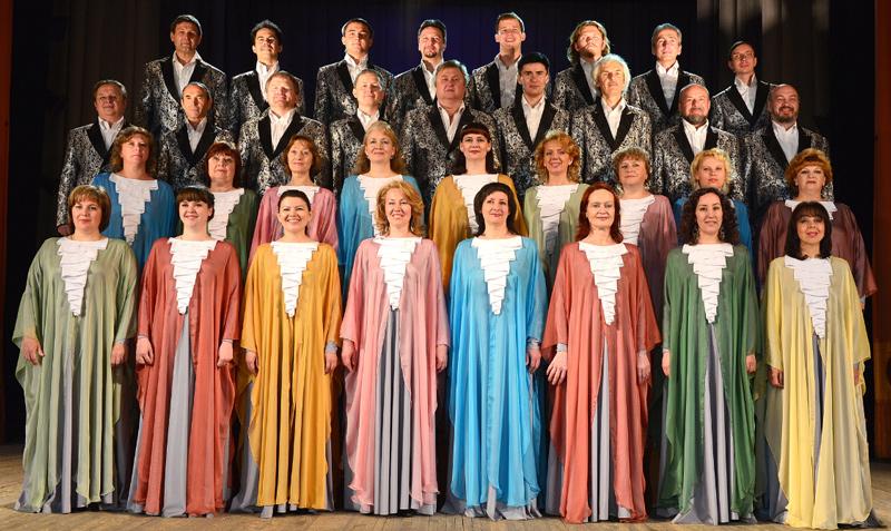 Chór Kameralny Państwowej Filharmonii w Czelabińsku  Czelabińsk, Rosja  Dyryguje: Olga Sielezniowa
