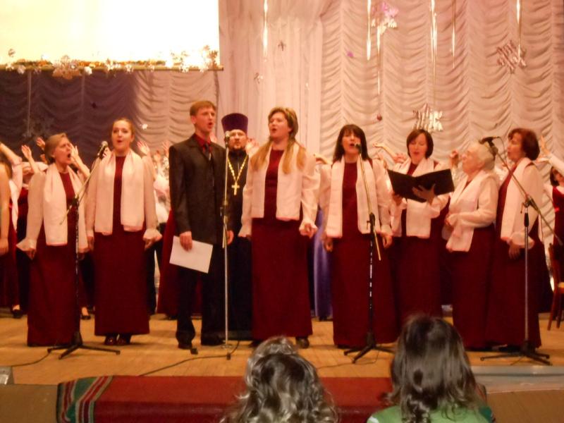 Chór Soboru Narodzenia Przenajświętszej Bogurodzicy  Orsza, Białoruś Dyryguje: Lubow Gałkina
