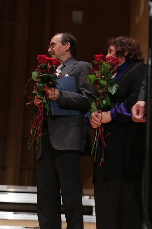 Łesia Dyczko i Anatolij Kisielow – kompozytorzy i jurorzy 34 . Festiwalu Śpiewającej Duszy 2015