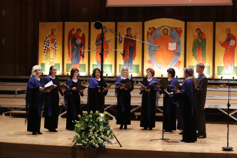 Chór Soboru Narodzenia Przenajświętszej Bogurodzicy z Orszy