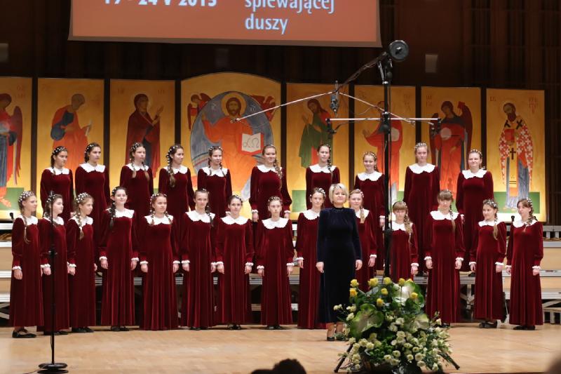 Wzorcowy Chór Państwowej Świetłogorskiej Dziecięcej Szkoły Sztuk z Białorusi