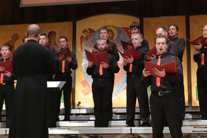 Prezentacja chóru – solista Jegor Czubakow