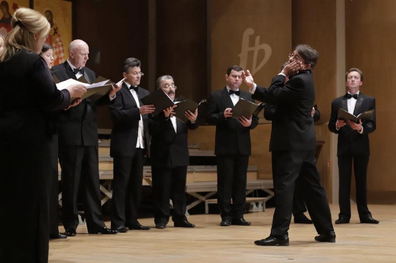 """Prezentacja Chóru """"Classic"""" pod kierunkiem dyrygenta Kiriłła Nosajewa"""