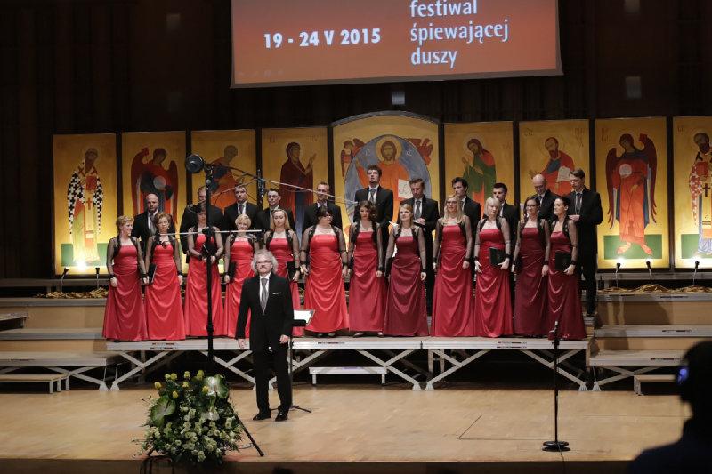 """""""Collegium Cantorum"""" z dyrygentem Januszem Siadlakiem"""