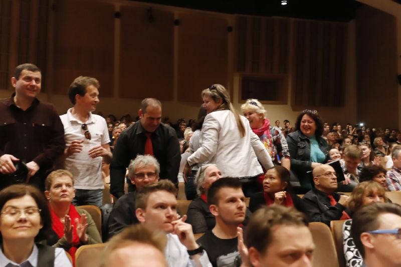Radość chórzystów z Orszy