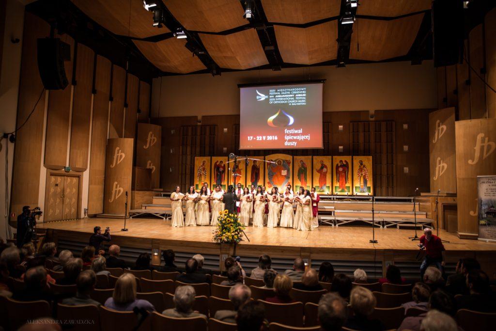 Chór Prawosławnego Soboru Św. Tomasza, Dubaj, Zjednoczone Emiraty Arabskie