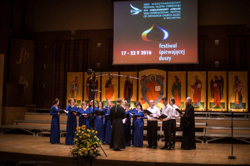 """Chór """"Prieobrażenije"""" z Borisowa, Białoruś"""