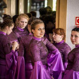 Chór Państwowego Koledżu Muzycznego z Grodna Białoruś