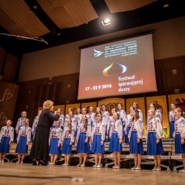 """38. Dziewczęcy Chór """"Wohnyk"""" z Kijowa (Ukraina) – II miejsce"""
