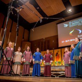 """39.Bizantyjski Zespół Męski """"Św. Efraim"""" z Budapesztu (Węgry) – III miejsce"""