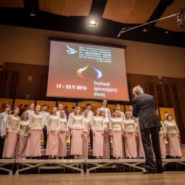 """40. Chór """"Soniacznyj Strum"""" Uniwersytetu Muzycznego z Nikołajewa (Ukraina) – II miejsce"""
